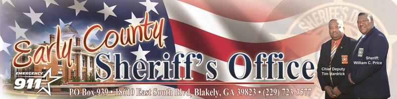 Early County GA Sheriff's Office